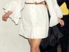 Белое платье-рубашка 2011