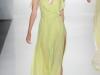 Зеленое длинное летнее платье 2012 от J. Mendel