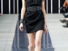 Короткое черное платье сезона весна 2014, Maxime Simoens