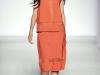 Модное оранжевое платье от Alberta Ferretti