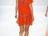 Короткое оранжевое платье от Charlotte Ronson
