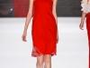 Платье оранжевое весна-лето 2012 от Vivienne Tam