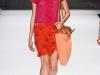 Платье оранжевое с розовым от Vivienne Tam