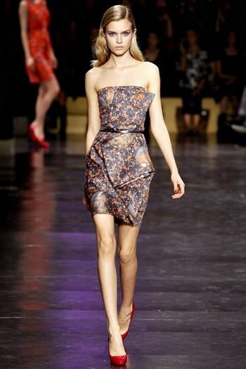 Короткое платье на оскаре