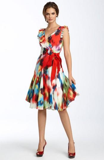 Фасон платья для груши