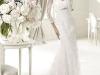 Кружевное платье для венчания в церкви
