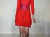 Красное платье гусиная лапка от House Of Holland
