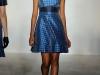 Синее платье гусиная лапка от House Of Holland