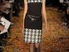 Коллекция Douglas Hannant Осень-Зима 2012-2013, платье в клетку гленчек - узор гусиная лапка