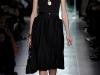 Черное платье миди Bottega Veneta