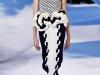Черно-белое платье миди Christian Dior