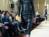 Кожаные платья длина миди Viva Vox