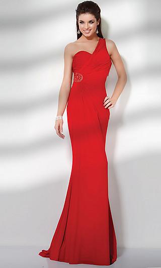 Платье длинное на одно плечо купить