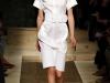 Платье рубашка белое от Celine