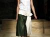 Платье рубашка белое с зеленым от Celine