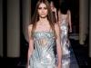 Вечернее длинное платье с паетками, коллекция Versace 2014