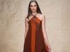 Летнее платье-туника с запахом от Donna Karan