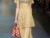 Платье-туника сеткой от Dolce & Gabbana
