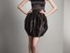 Короткое черное платье тюльпан от Marc Jacobs
