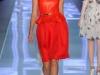 Вечернее красное платье тюльпан от Christian Dior