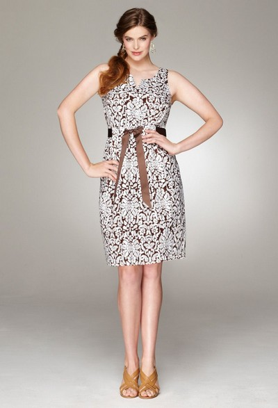 Нарядные и повседневные платья для полных магазина Stylish.  14 апр 2012.
