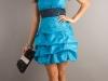 Короткое пышное платье на 8 марта
