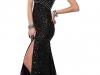 Вечернее черное платье на 14 февраля