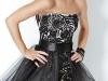 Платье на выпускной 2012 короткое с пышной юбкой
