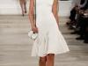 Белое короткое выпускное платье 2013 с шляпкой от Ralph Lauren