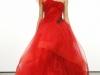 Красное вечернее платье на выпускной 2013 от Vera Wang
