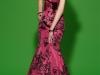 Вечернее платье с бантом
