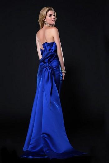 Красивые платья с бантом сзади