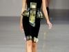 Платье с баской фото David Koma
