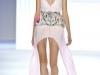 Платье с принтом и с баской 2012 от Vera Wang