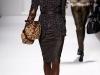 Платья с мехом от Elie Tahari