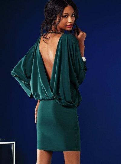 Короткие летние платья с открытой спиной 28