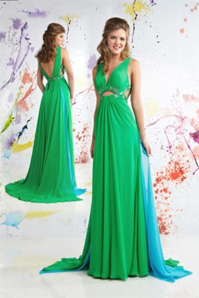 Платья с открытой спиной 2011 вечерние