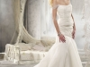 Свадебное платье с открытыми плечами от Alvina Valenta