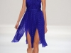 Длинное летнее платье с открытыми плечами от Luca Luca