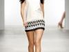 Короткое платье с принтом от Holly Fulton