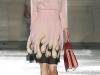 Шифоновое платье с принтом от Prada