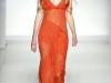 Платья с V-образным вырезом от Alberta Ferretti