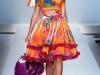 Платья с V-образным вырезом весна-лето 2012 от Blumarine