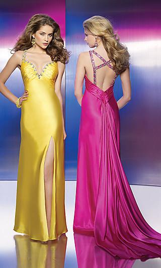 Как называется вырез на спине женского платья