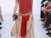 Красное платье с низкой талией 2012 от Chloe