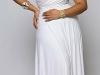 Белое длинное платье-трансформер от Marilyn