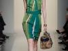 Платье-футляр в полоску 2012 от Bottega Veneta