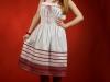 Вышитое украинское платье