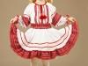 Вышитое украинское платье для девочки