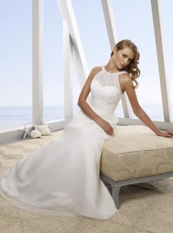 Пляжные свадебные платья вечерние